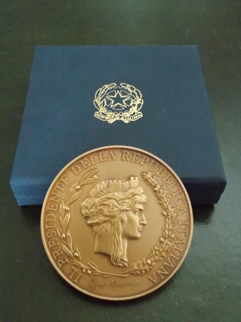 Medaglia del Capo dello Stato al RC Roma Cassia