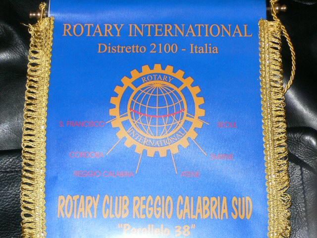 Lo stendardo del RC Reggio Calabria Sud Parallelo 38
