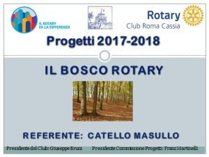 progetto bosco