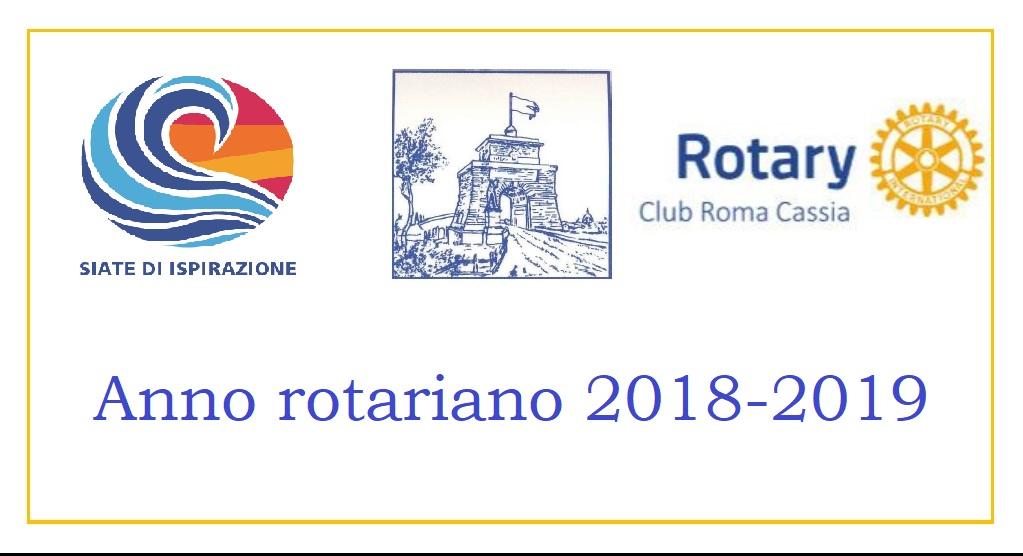 anno rotariano 2018 2019