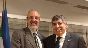 Boreham e Sergio tagliata