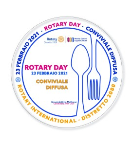 BIS BOZZA N 5 STIKERS ROTARY DAY