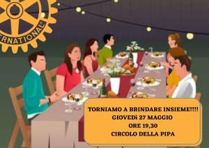 TORNIAMO A BRINDARE INSIEME!!!! GIOVEDì 27 MAGGIO ORE 19,30 CIRCOLO DELLA PIPA